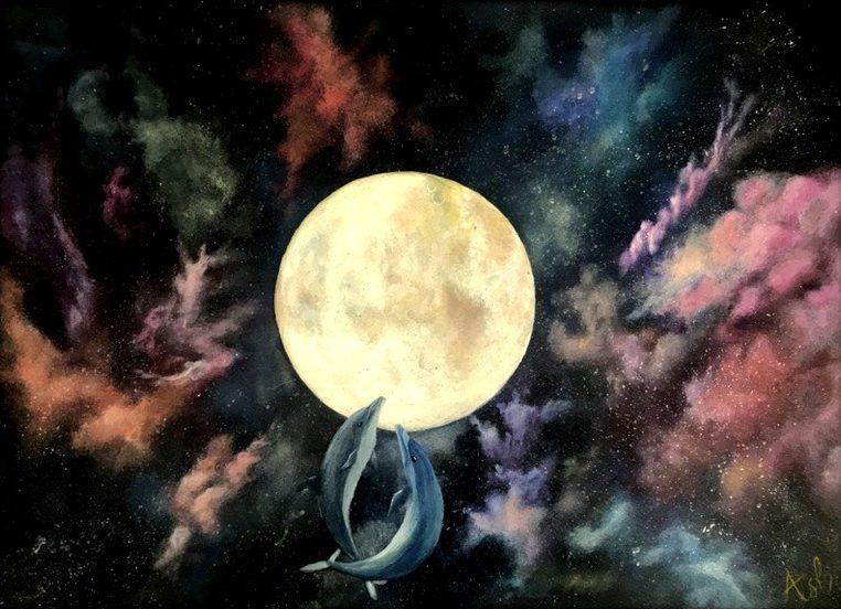 Asli Oztoprak Full Moon