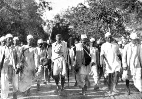 Mahatmi Gandhi tuz yürüyüşü
